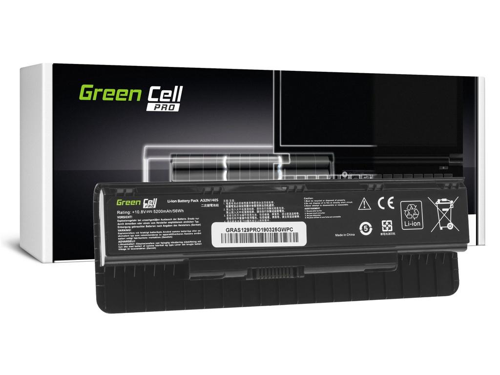Baterija Green Cell PRO A32N1405 za Asus G551 G551J G551JM G551JV G771 G771J G771JM G771JV N551 N551J N551JM N551JV N551JKS