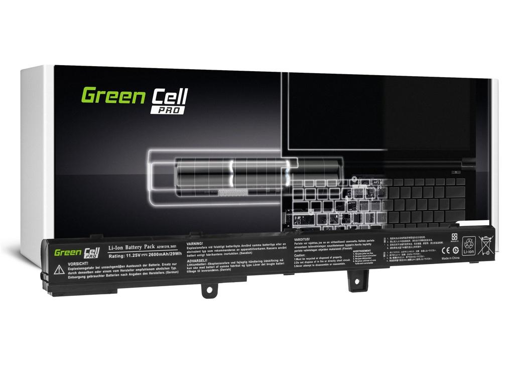 Baterija Green Cell PRO A31N1319 za Asus Ks551 Ks551C Ks551CA Ks551M Ks551MA Ks551MAV F551 F551C F551M R512C R512CA R553L