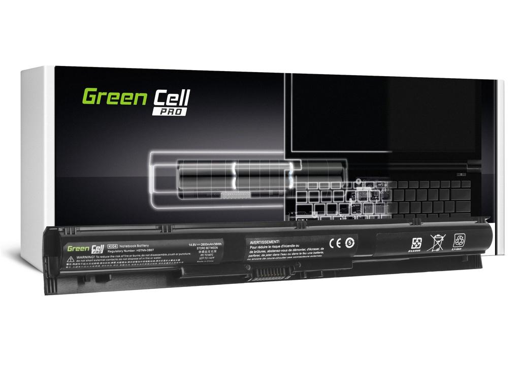 Baterija Green Cell PRO KI04 za HP Pavilion 15-AB 15-AB061NV 15-AB230NV 15-AB250NV 15-AB278NV 17-G 17-G131NV 17-G132NV