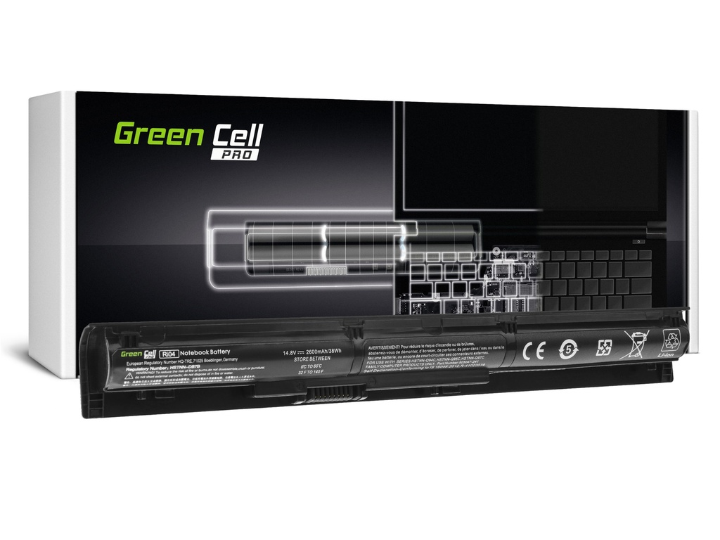 Baterija Green Cell PRO RI04 805294-001 za HP ProBook 450 G3 455 G3 470 G3