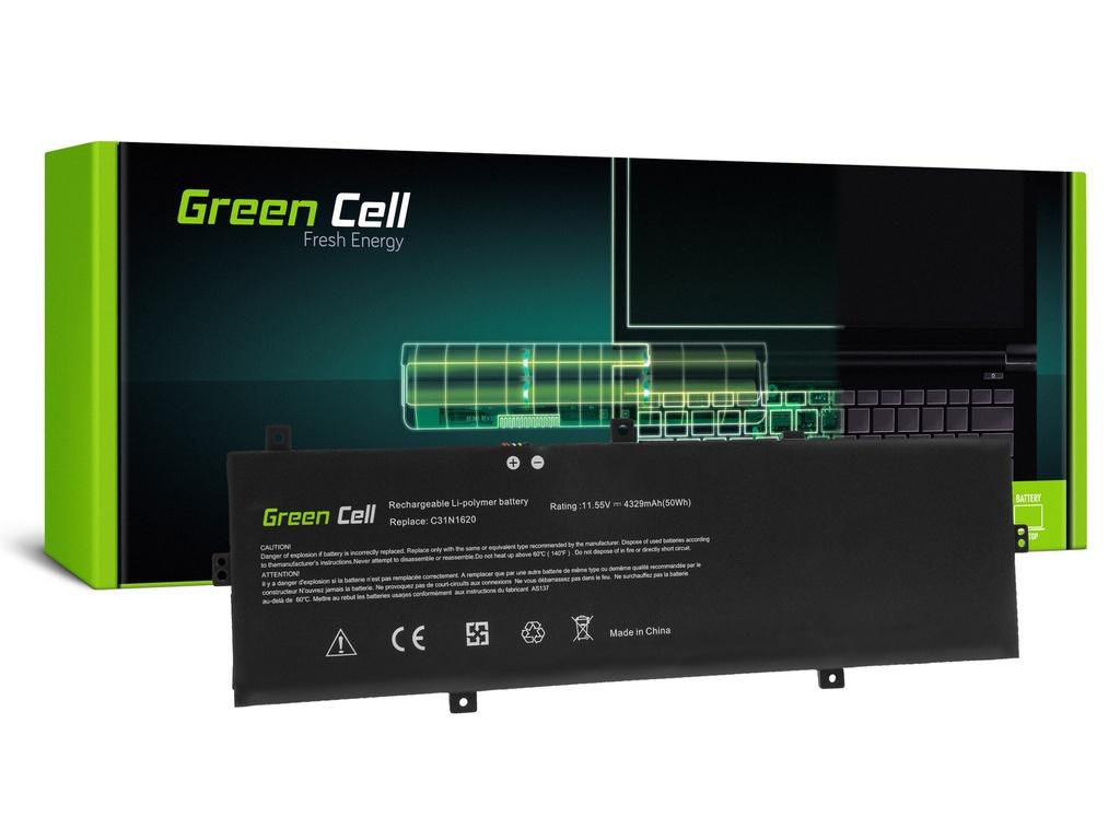 Baterija Green Cell C31N1620 za Asus ZenBook UX430 UX430U UX430UA UX430UN UX430UQ / 11,55V 4329mAh