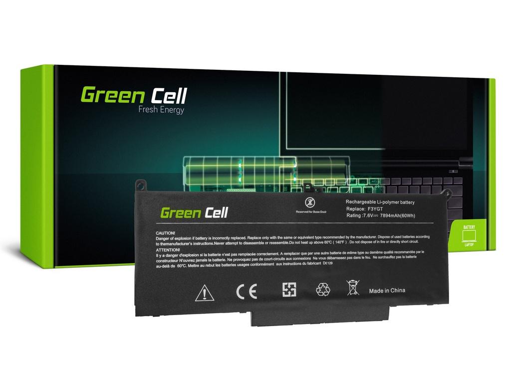 Baterija Green Cell F3YGT za Dell Latitude 7280 7290 7380 7390 7480 7490