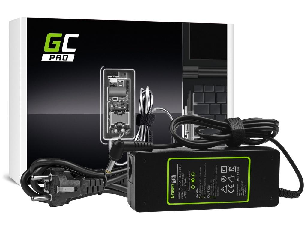 AC adapter za punjač Green Cell PRO za Acer Aspire 5220 5315 5520 5620 5738G 7520 7720 19V 3.95A 75V