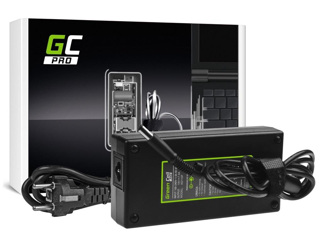 AC adapter za punjač Green Cell PRO za HP EliteBook 8530p 8530v 8540p 8540v 8560p 8560v 8570v 8730v ZBook 15 G1 G2 19V 7.9A 150