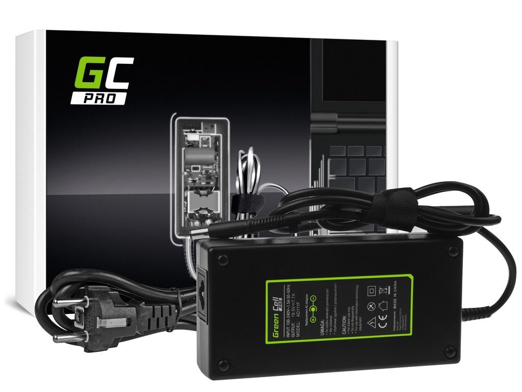 AC adapter za punjač Green Cell PRO za HP EliteBook 8530p 8530v 8540p 8540v 8560p 8560v 8570v 8730v ZBook 15 G1 G2 19,5V 7,7A 1