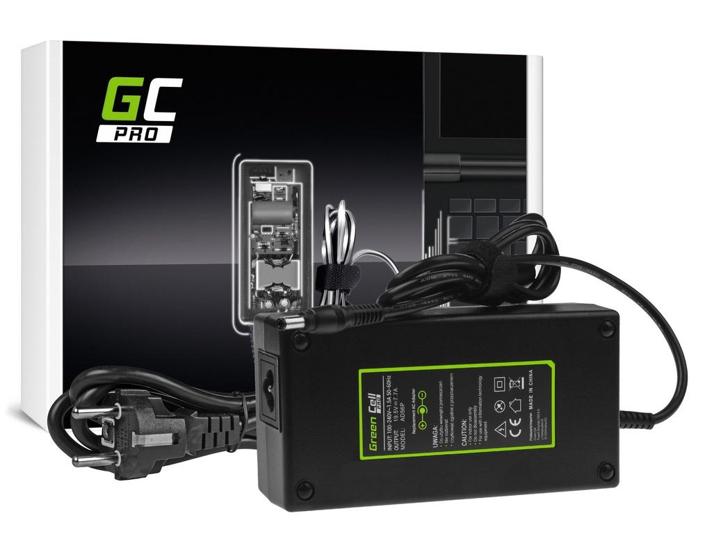 AC adapter za punjač Green Cell PRO za Asus G550 G551 G73 N751 MSI GE60 GE62 GE70 GP60 GP70 GS70 PE60 PE70 19,5V 7,7A 150V
