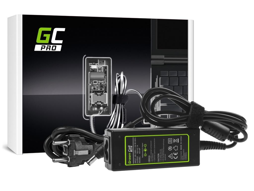 AC adapter za punjač Green Cell PRO za Samsung N100 N130 N145 N148 N150 NC10 NC110 N150 Plus 19V 2.1A 40V