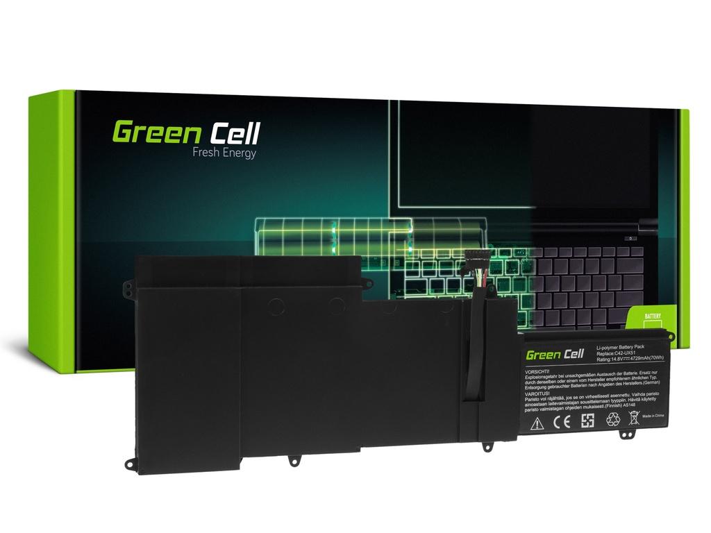 Baterija Green Cell C42-UX51 za Asus ZenBook UX51 UX51V UX51VZ