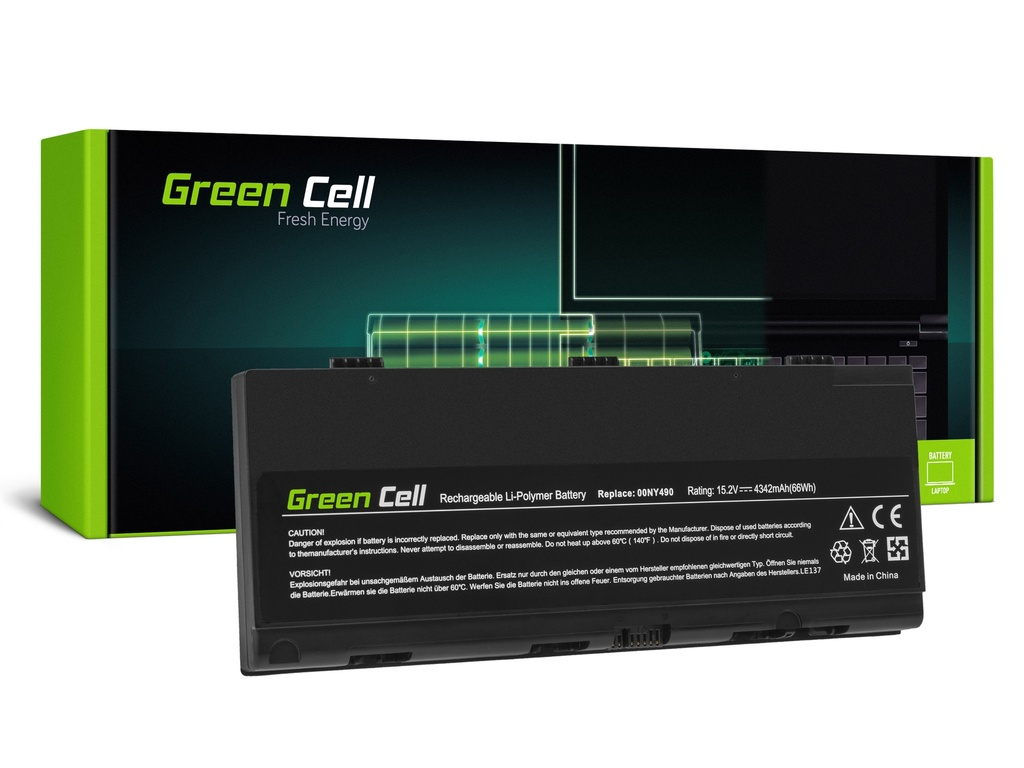Baterija Green Cell 00NI490 00NI491 za Lenovo ThinkPad P50 P51