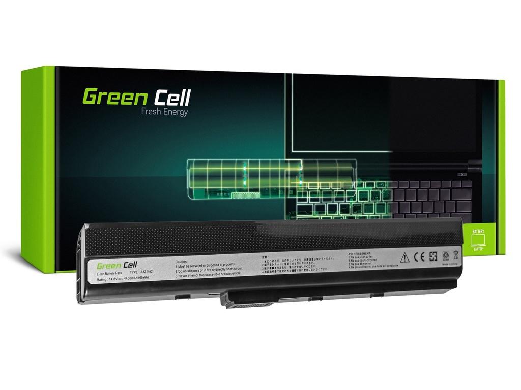 Baterija Green Cell za Asus A32-K52 K52 Ks52 A52 / 14,4V 4400mAh