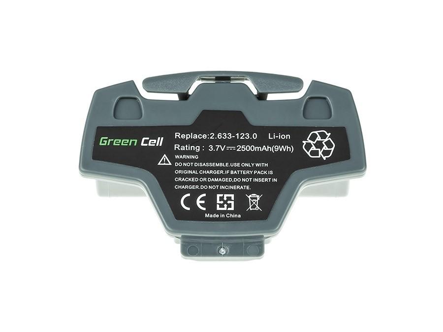 Baterija električnih alata 2.633-123.0 za Karcher VV5 Plus 3.7V 2.5Ah