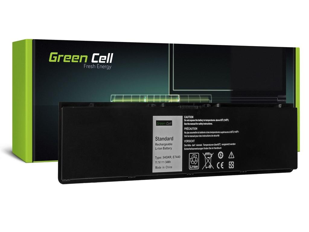 Baterija Green Cell za Dell Latitude E7440 P40G001 / 11,1V 3060mAh