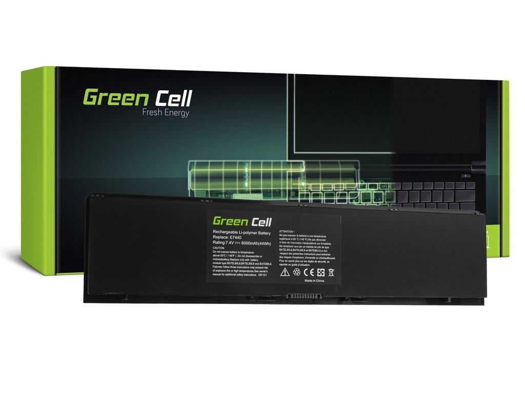 Baterija Green Cell za Dell Latitude E7440 / 7,4V 6000mAh