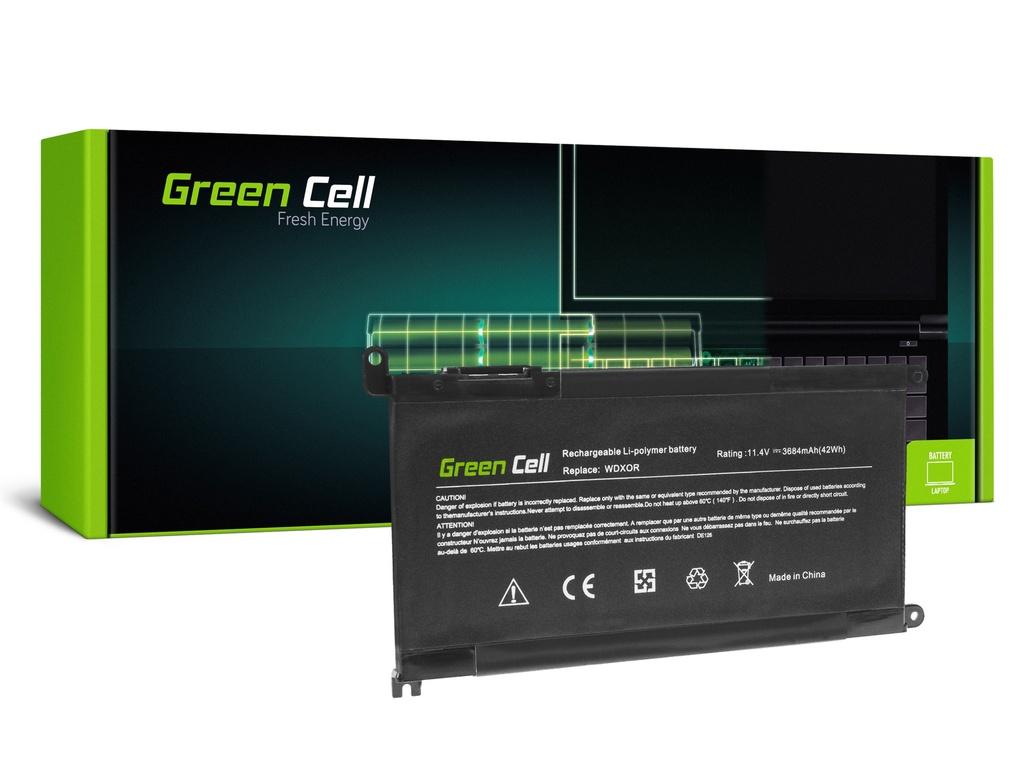 Baterija Green Cell WDX0R WDXOR za Dell Inspiron 13 5368 5378 5379 15 5567 5568 5570 5578 5579 7560 7570 Vostro 14 5468 15 5568