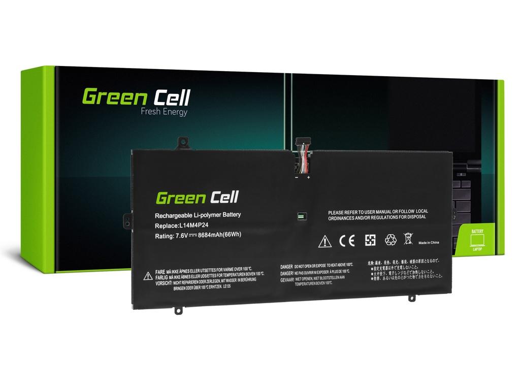 Baterija Green Cell L14L4P24 L14M4P24 za Lenovo Ioga 900-13ISK 900-13ISK2