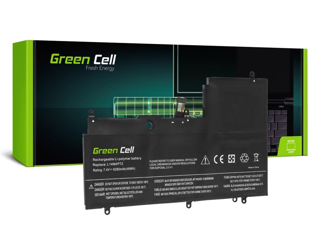 Baterija Green Cell L14M4P72 L14S4P72 za Lenovo Ioga 3-1470 700-14ISK