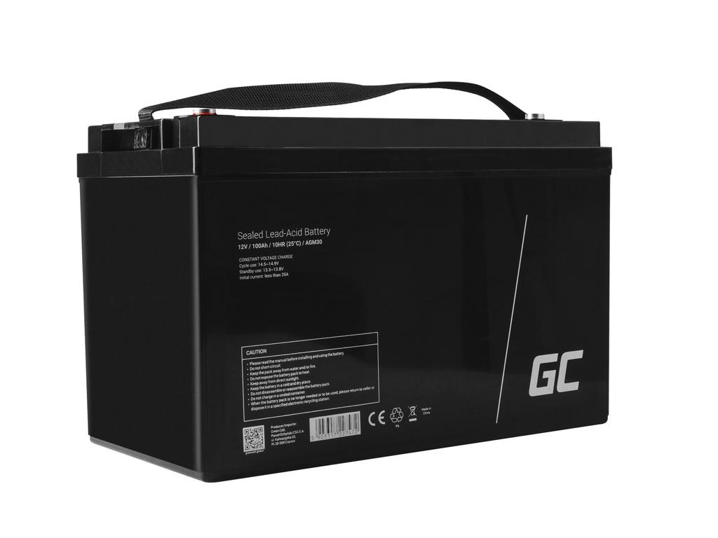Akumulator AGM Green Cell 12V 100Ah