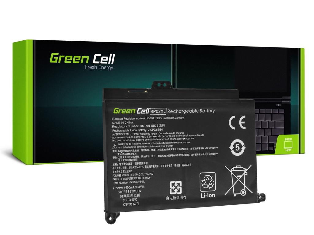 Baterija Green Cell BP02XL za HP Pavilion 15-AU 15-AU051NV 15-AU071NV 15-AU102NV 15-AU107NV 15-AV 15-AV010NV