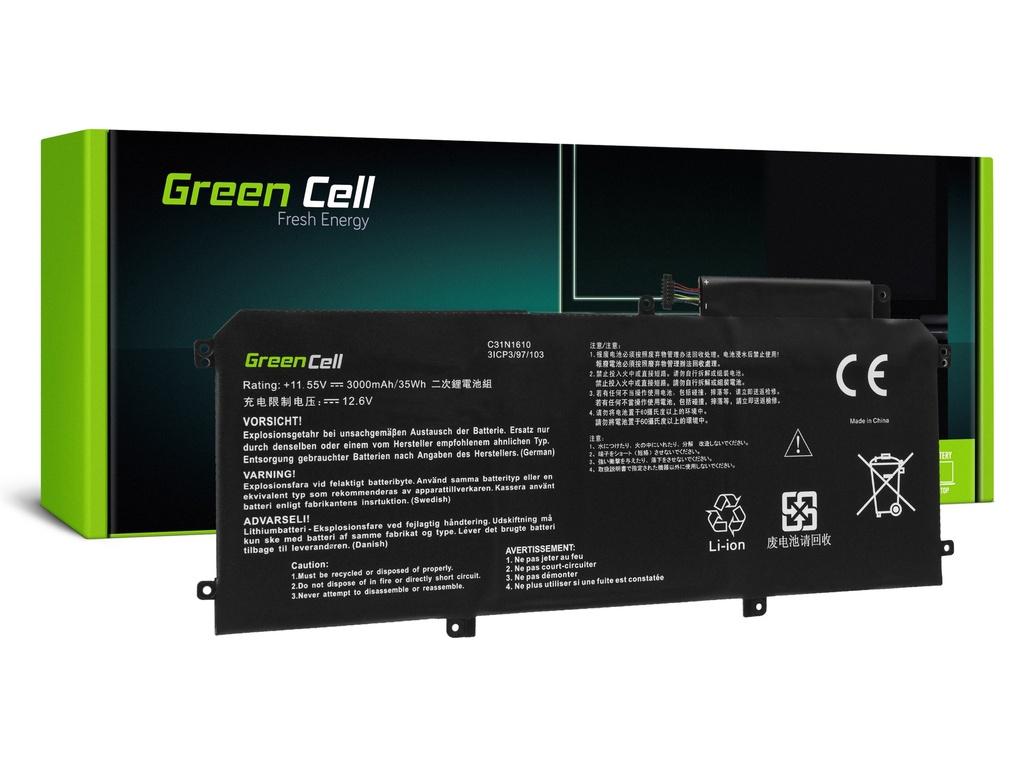 Baterija Green Cell C31N1610 za Asus ZenBook UKS330C UKS330CA