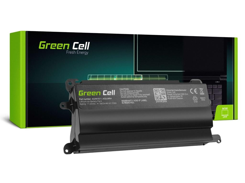 Baterija Green Cell A32N1511 za Asus ROG G752VL G752VM G752VT