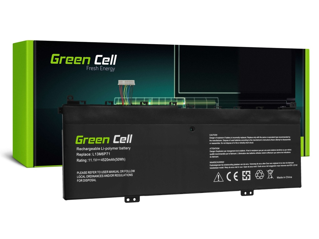 Baterija Green Cell L13M6P71 L13S6P71 za Lenovo Yoga 2 13