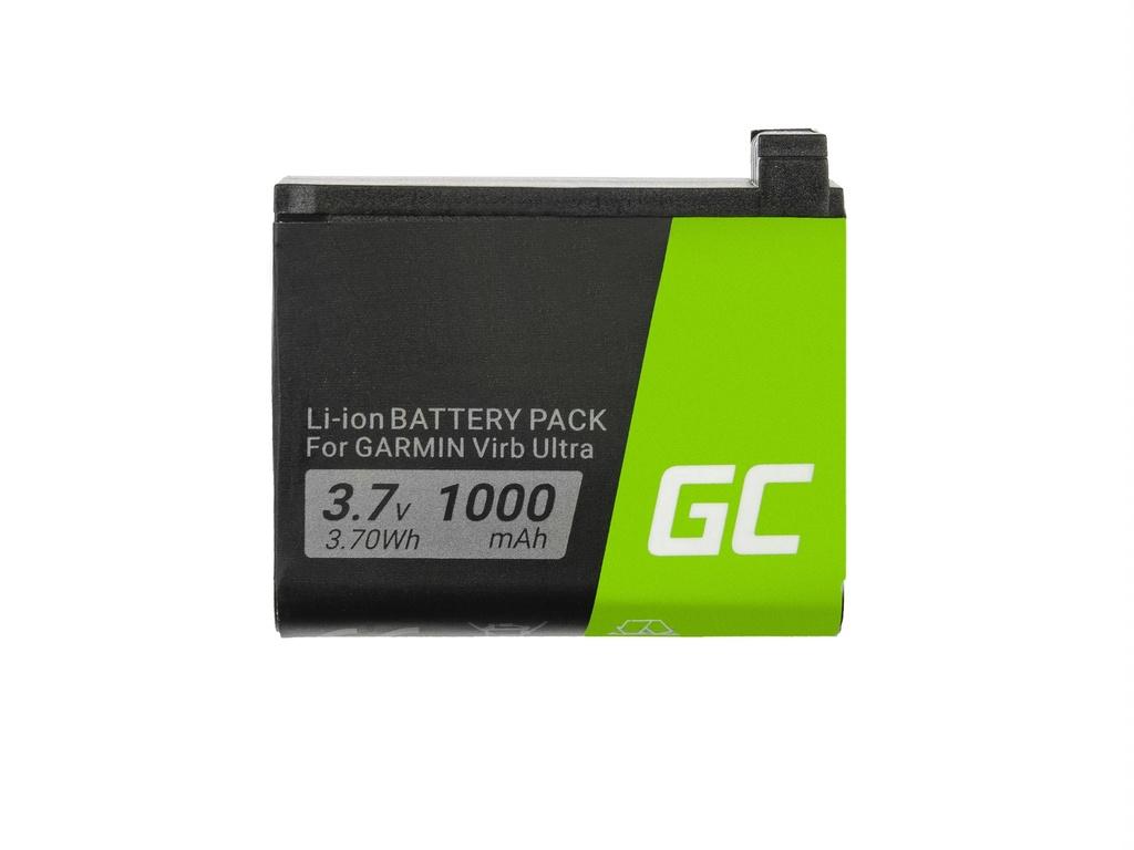 Baterija Green Cell® 361-00087-00 010-12389-15 za kamere Garmin Virb Ultra 30 3.7V 1000mAh