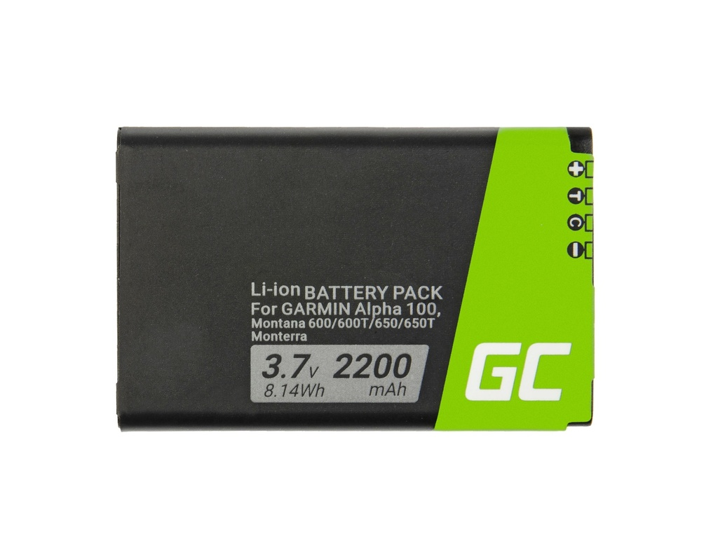Baterija Green Cell® 361-00053-00 za GPS Garmin Alpha 100 Montana 600 610 650 680