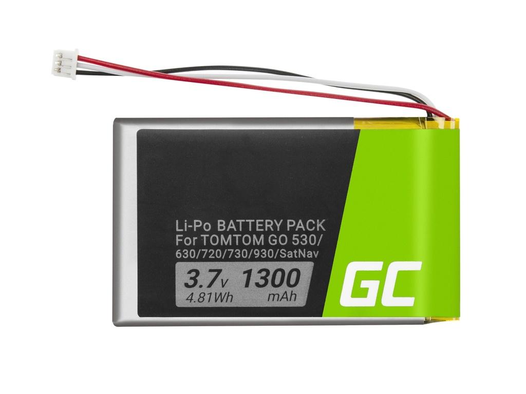 Baterija Green Cell® VF8 AHL03714000 za GPS TomTom Go 530 630 720 730 930 Ks40 Ks50