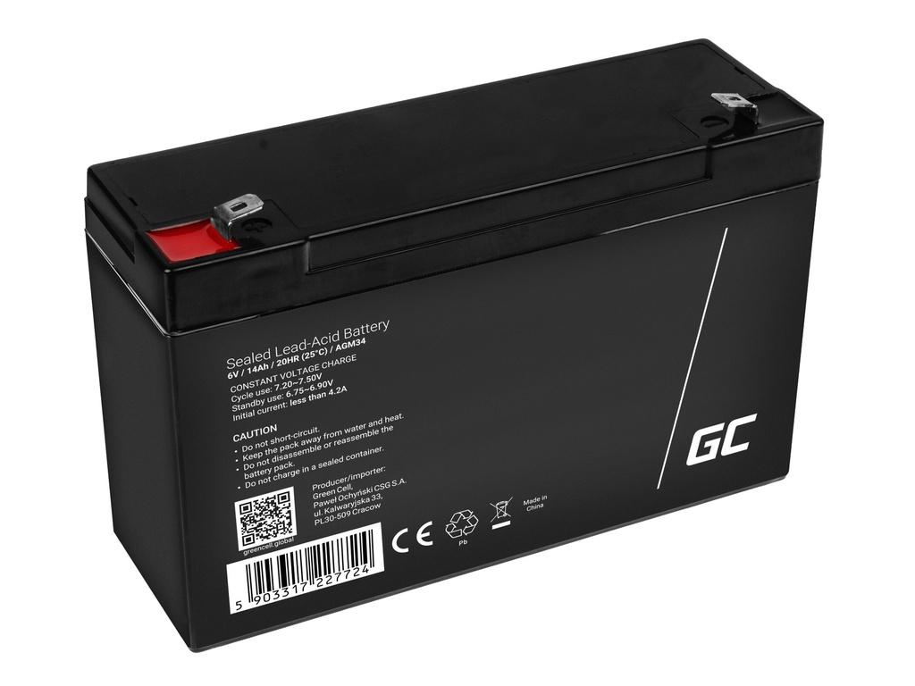 Akumulator AGM GREEN TSEL SHV 14akh