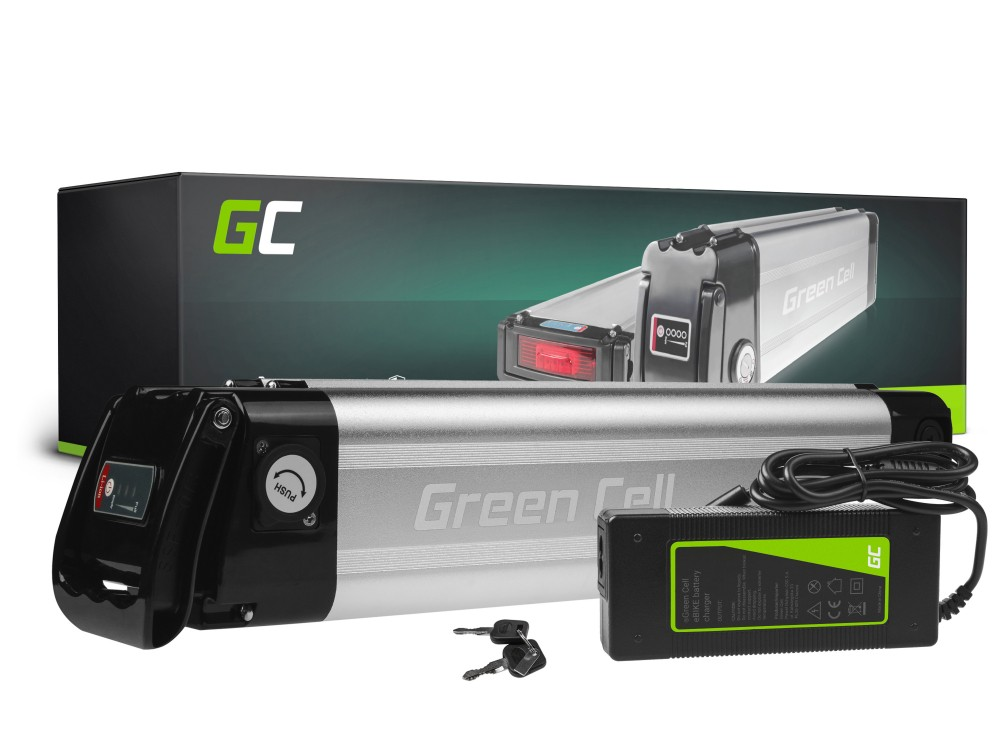 Baterija Green Cell Silverfish 36V 10,4Ah 374Vh za E-Bike Pedelec