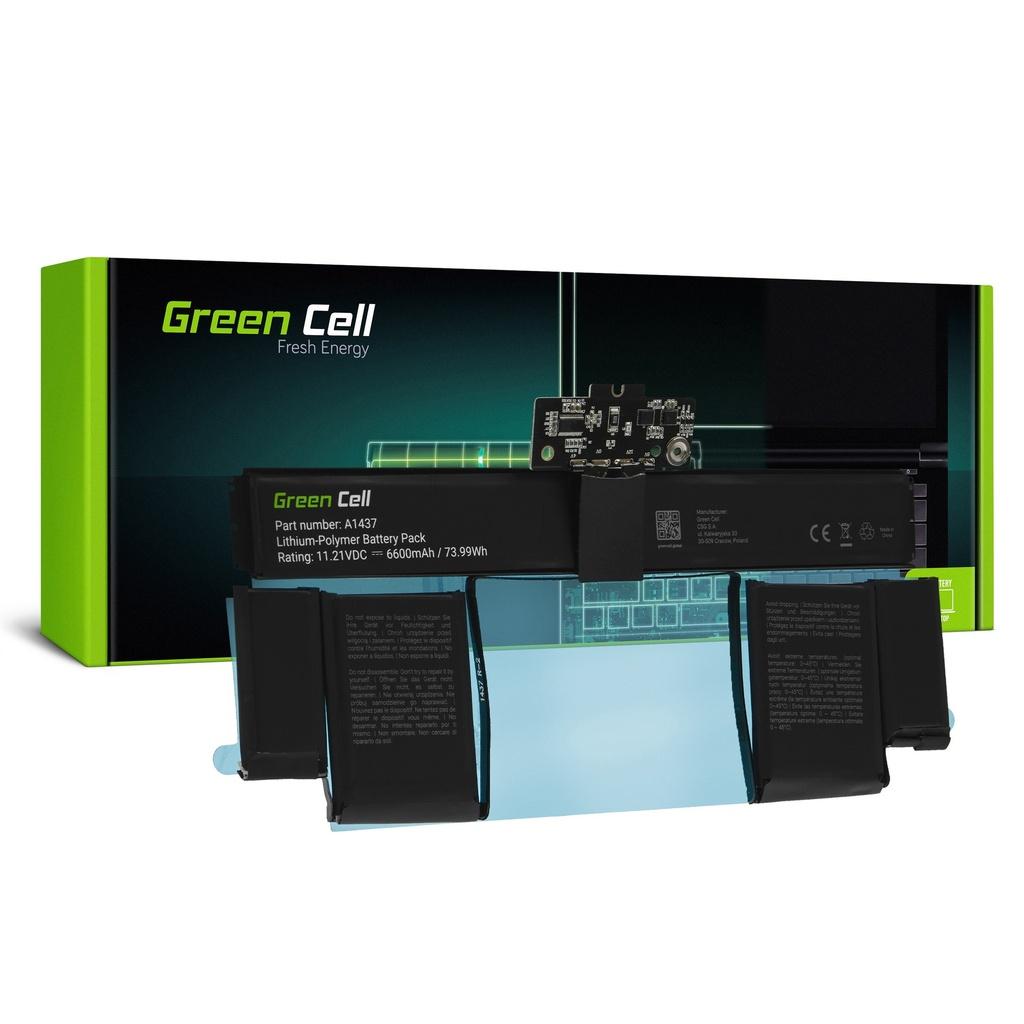 Baterija Green Cell A1437 za Apple MacBook Pro 13 A1425 (kraj 2012., početak 2013.)