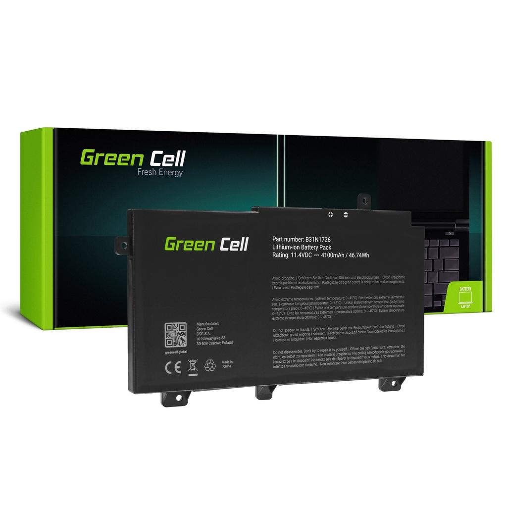 Baterija Green Cell B31N1726 za Asus TUF Gaming FKS504 FKS504G FKS505 FKS505D FKS505G A15 FA506 A17 FA706