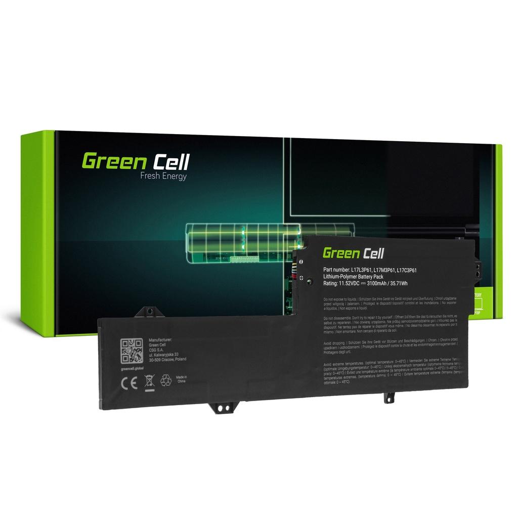 Baterija Green Cell L17C3P61 L17L3P61 L17M3P61 za Lenovo Flek 6 11 6-11IGM, IdeaPad 320s-13IKB, Ioga 330-11IGM 720-12IKB