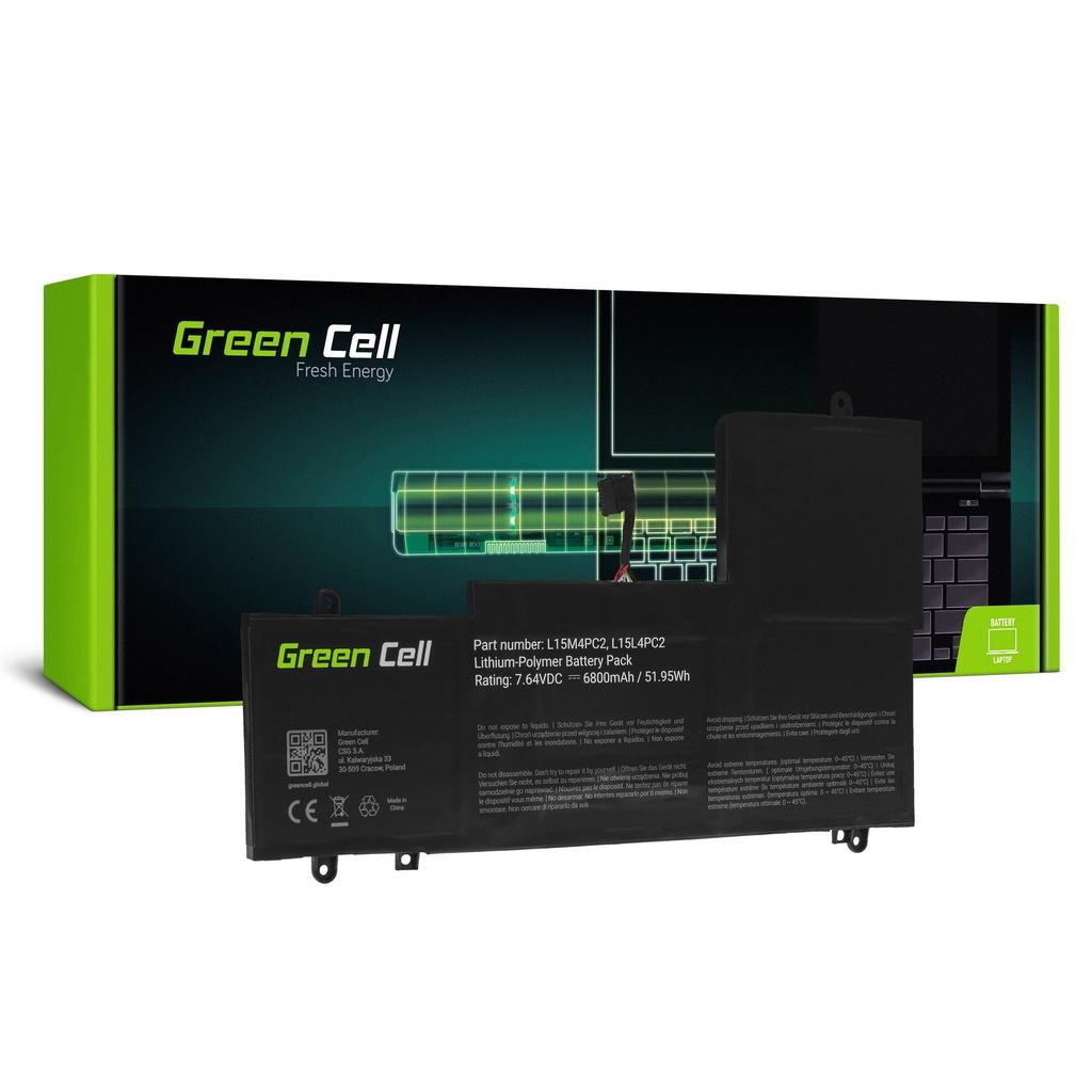 Baterija Green Cell L15L4PC2 L15M4PC2 za Lenovo Ioga 710-14 710-14IKB 710-14ISK 710-15 710-15IKB 710-15ISK