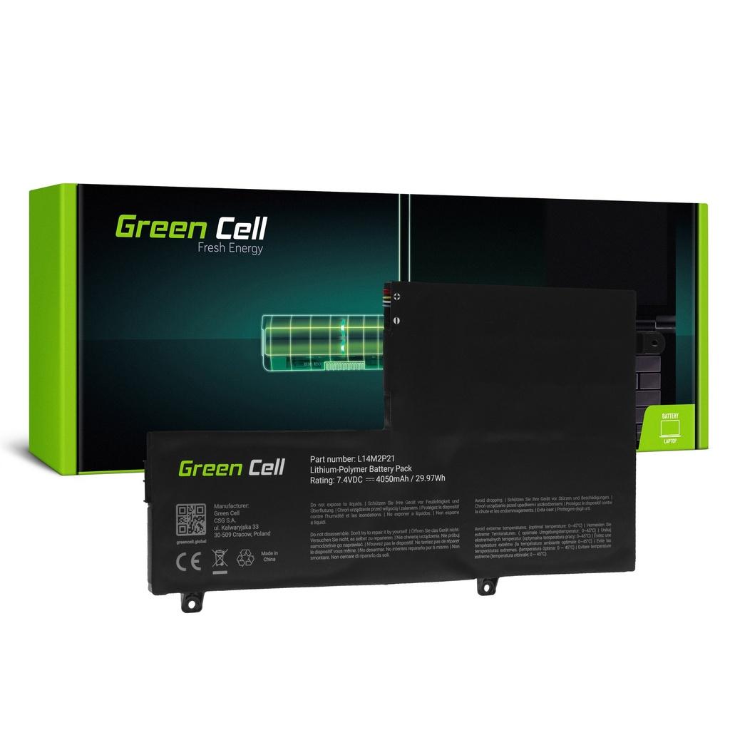 Baterija Green Cell L14L2P21 L14M2P21 za Lenovo Ioga 500-14 500-14IBD 500-14ISK 500-15 500-15IBD 500-15ISK