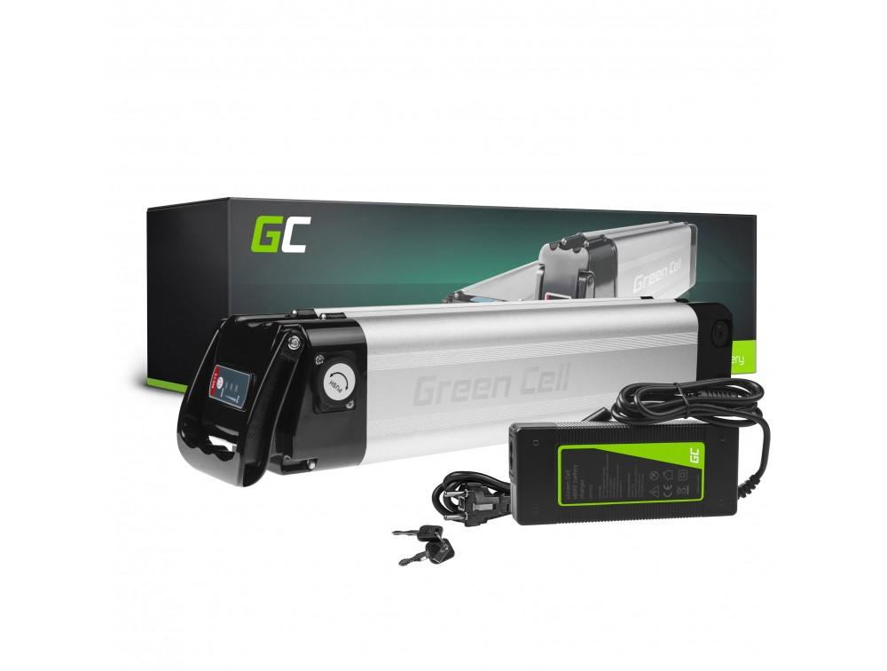 Baterija Green Cell 24V 8,8Ah 211Vh Zadnji nosač za E-bicikl Pedelec