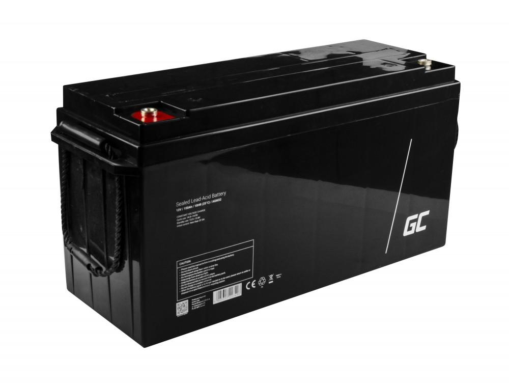 AGM VRLA Green Cell 12V 150Ah baterija za održavanje čamaca i fotonaponskih instalacija