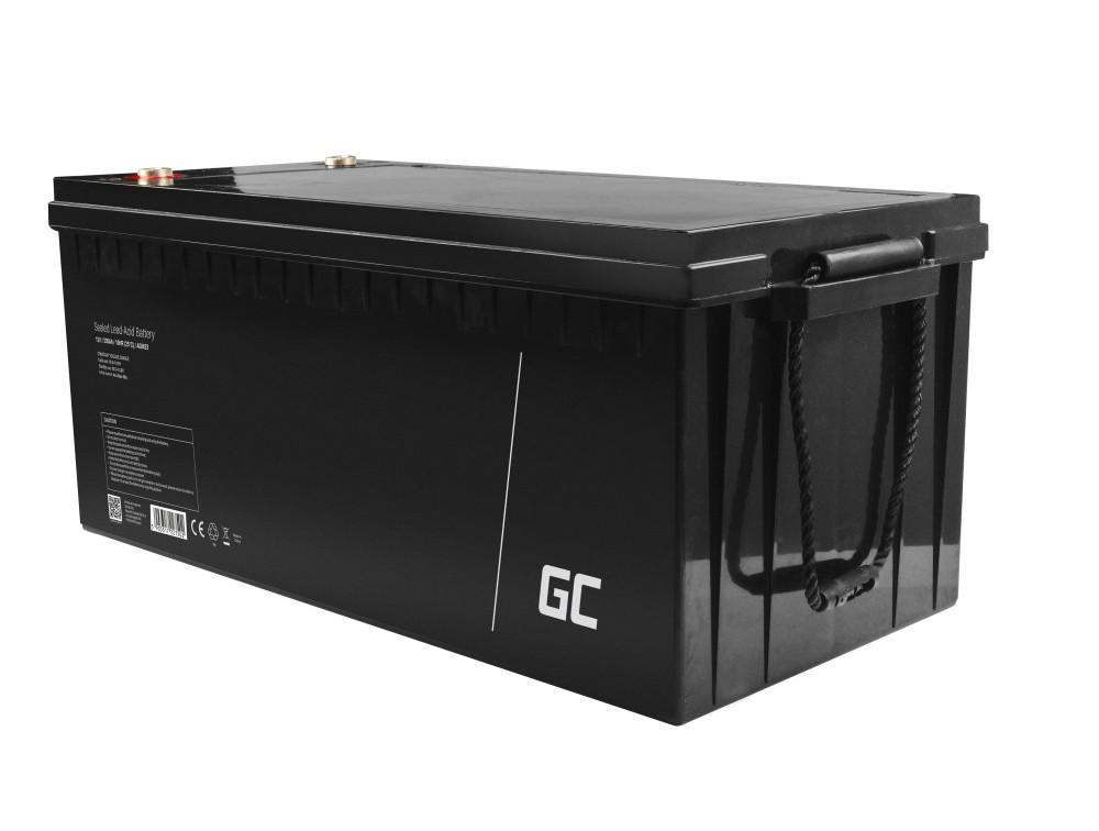 AGM baterija olovna kiselina 12V 200Ah Green Cell bez održavanja Green Cell bez održavanja za elektromotor i gumenjak