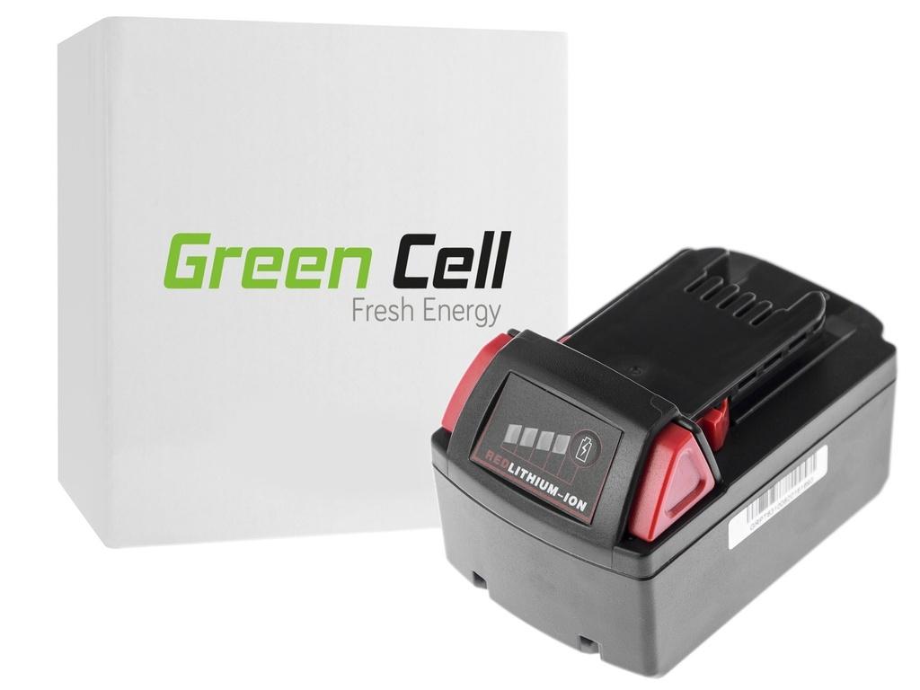 Baterija električnih alata 48-11-1830 za Milvaukee C18 M18 18V 3000mAh