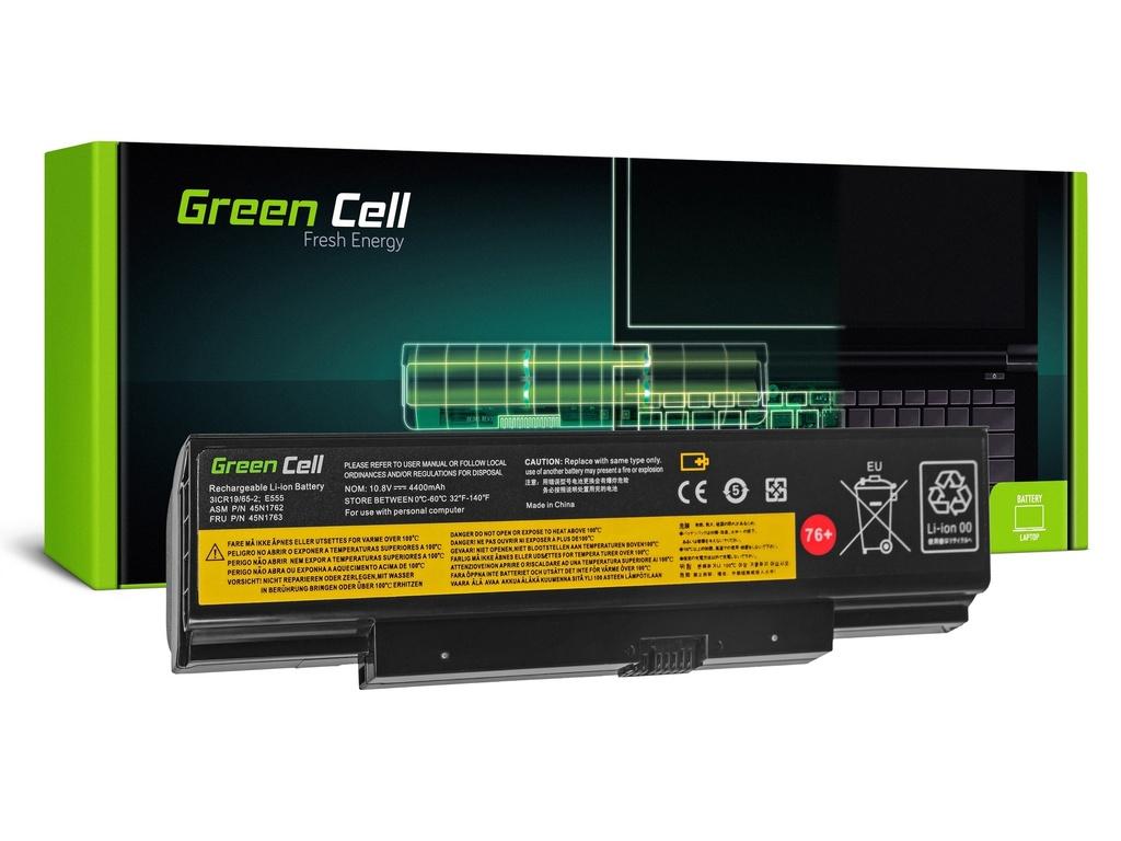 Baterija Green Cell za Lenovo ThinkPad Edge E550 E550c E555 E560 E565 / 11,1V 4400mAh