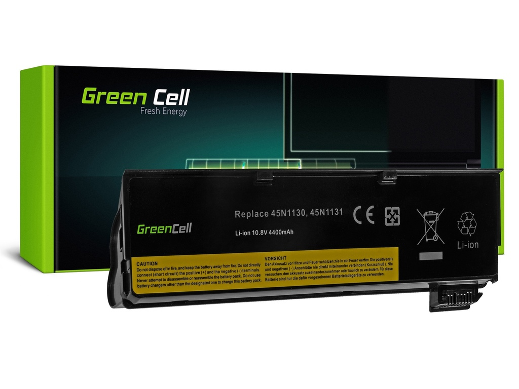 Baterija Green Cell za Lenovo ThinkPad T440 L450 / 11,1V 4400mAh