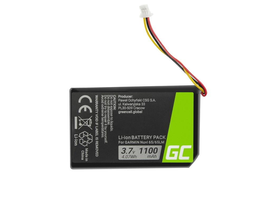 Baterija Green Cell® 361-00056-01 za GPS Garmin Nuvi 55 55LM 56 65 65LM 66 66LM