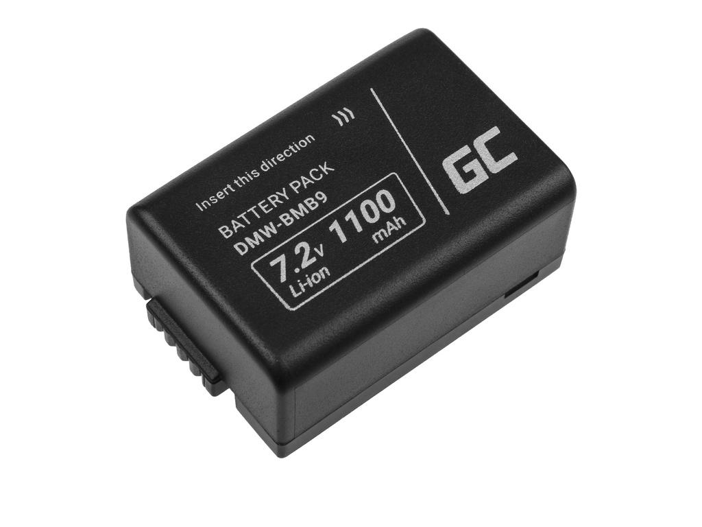 Baterija Green Cell ® DMV-BMB9 (poludekodirana) za fotoaparate Panasonic Lumik DMC-FZ70, DMC-FZ60, DMC-FZ100, DMC-FZ40, DMC-FZ47 7,42