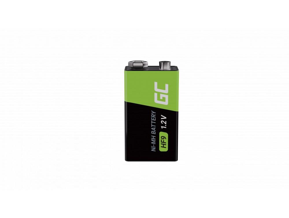 Baterija 4k 9V HF9 Ni-MH 250mAh Green Cell