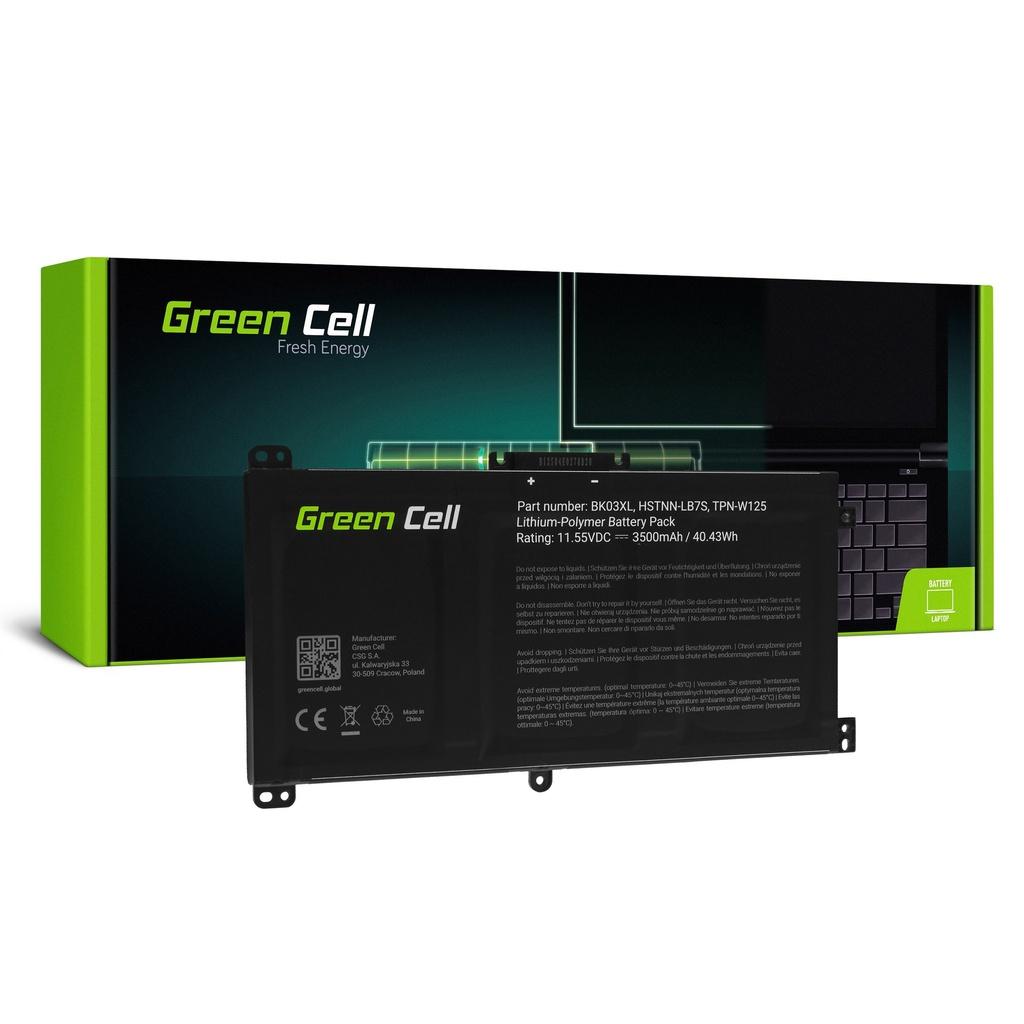 Baterija Green Cell BK03KSL za HP Pavilion k360 14-BA 14-BA015NV 14-BA022NV 14-BA024NV 14-BA102NV 14-BA104NV