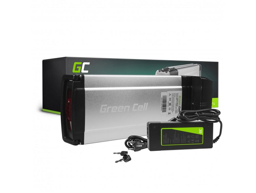 Baterija Green Cell Zadnji nosač 24V 8,8Ah 211Vh za E-Bike Pedelec