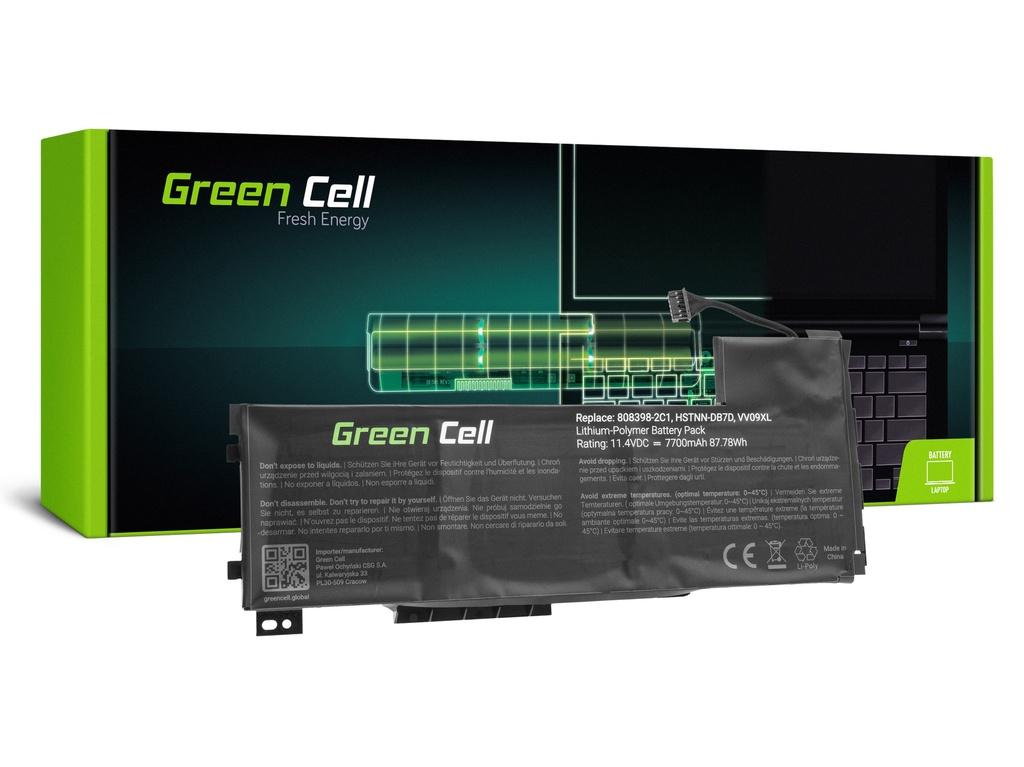 Baterija Green Cell za HP ZBook 15 G3 G4 / 11,4V 7700mAh