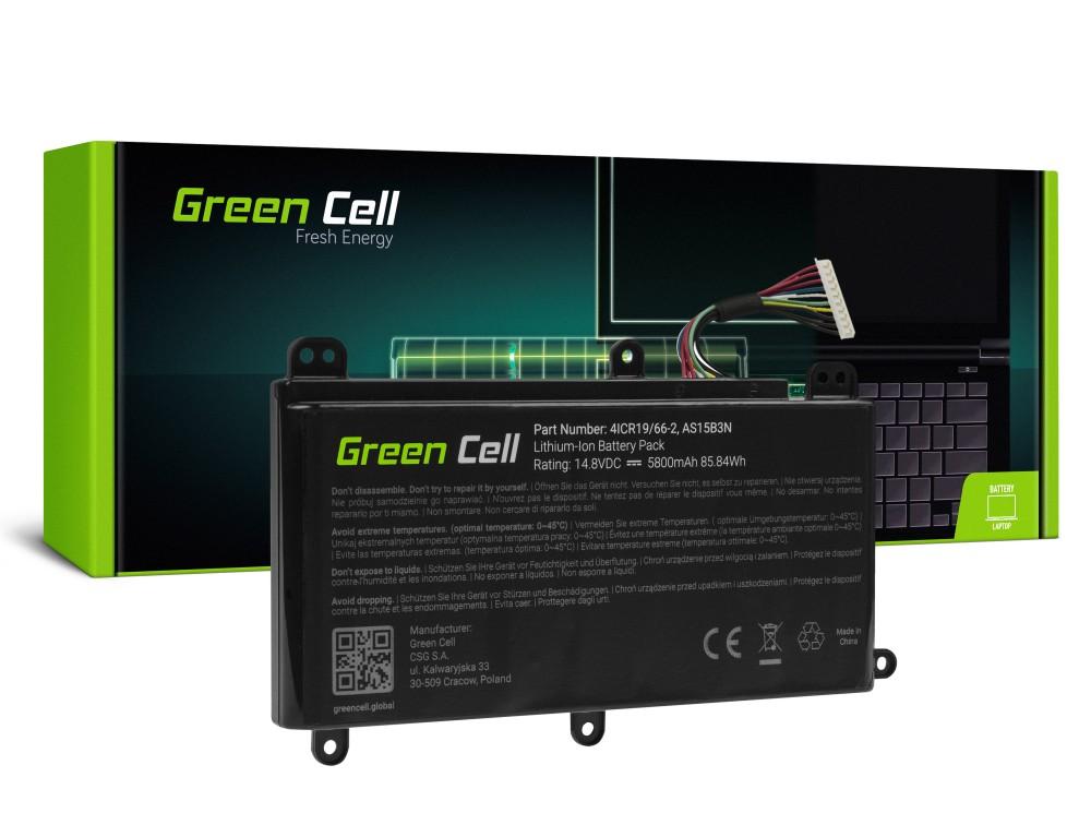 Baterija Green Cell AS15B3N za Acer Predator 15 G9-591 G9-592 G9-593 17 G9-791 G9-792 G9-793 17Ks GKS-791 GKS-792 21Ks