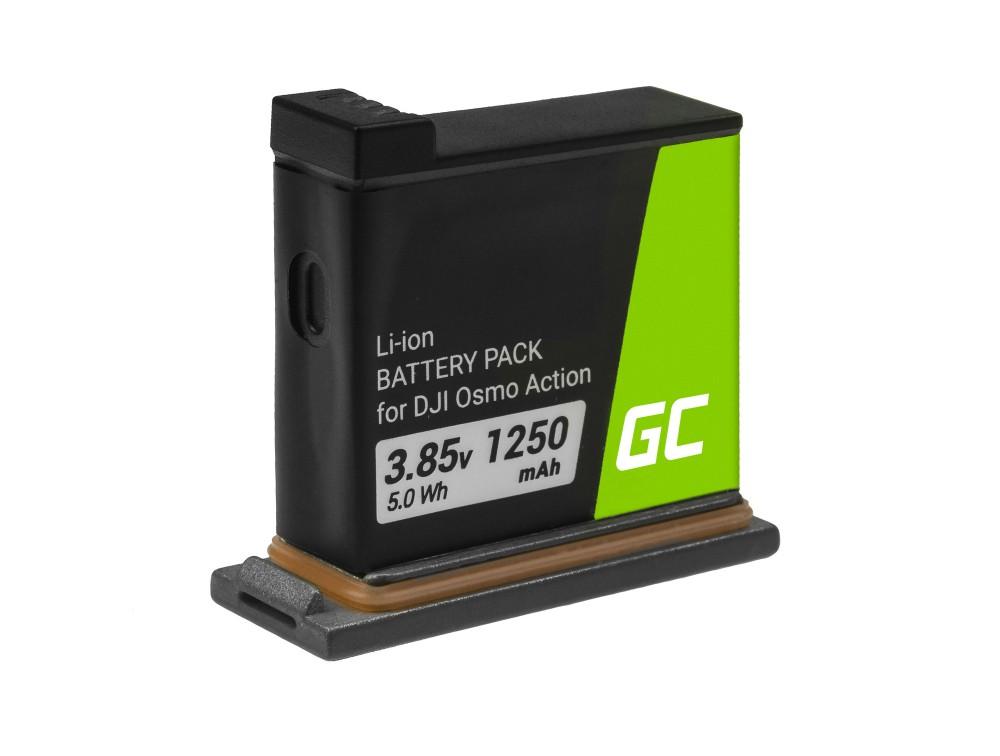 Baterija AB1 Zelena ćelija za DJI OSMO Action 3.85V 1250mAh