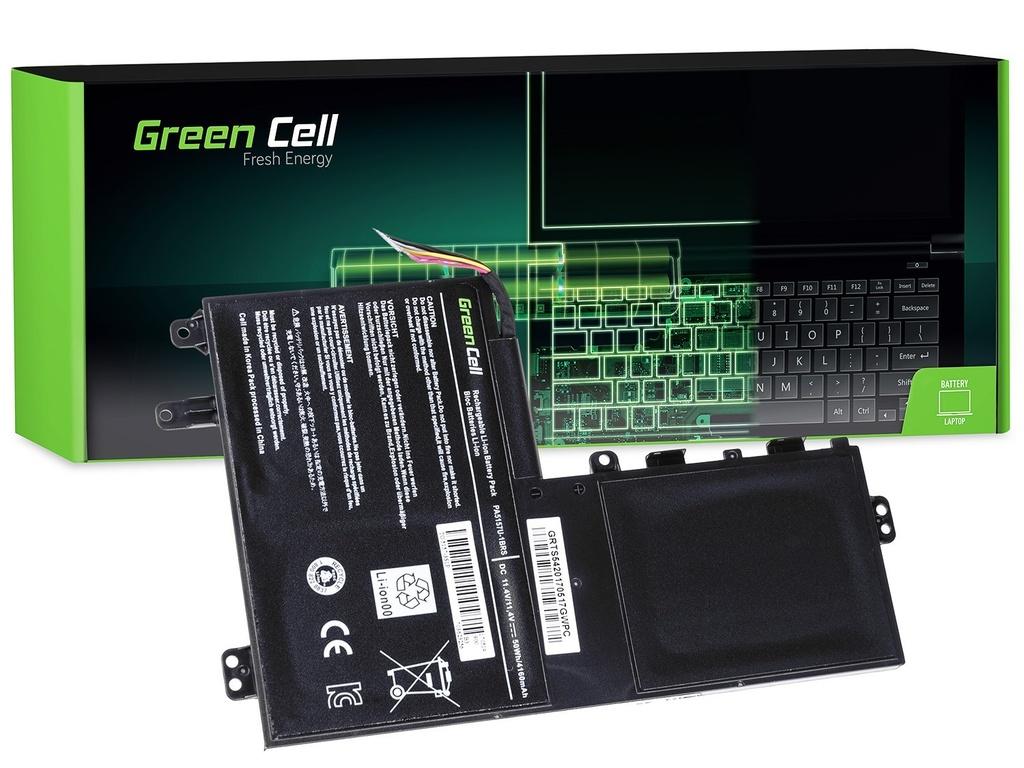 Baterija Green Cell za Toshiba Satellite U940 U40t U50t M50-A M50D-A M50Dt M50t / 11,4V 3800mAh